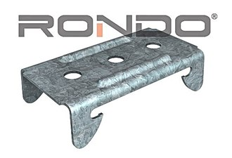 rondo direct fix clip for 155 furring channel  to concrete