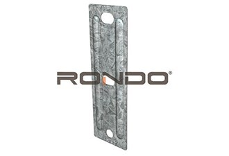 rondo suspension road bracket for timber or steel
