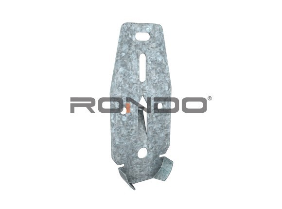 rondo 92mm direct fixing bracket for 35mm ceiling batten