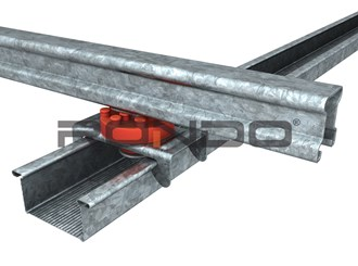 rondo suspension mount for furriing channel/ top cross rail