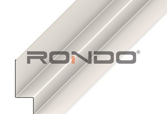 rondo duo7 aluminium shadowline 15mm wall angle