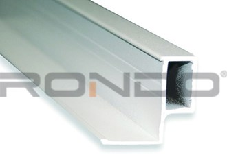 rondo duo9 3600mm seismic aluminium shadowline perimeter trim