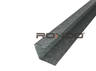 rondo furring channel wall track 3000mm to suit 28mm furring channel