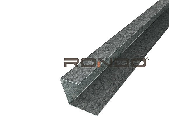 rondo furring channel wall track 3600mm to suit 28mm furring channel