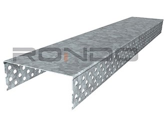 rondo inspire 85x2400mm end cap for 64mm stud with 1 layer of 10mm board each side
