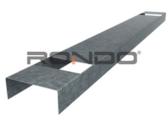 rondo 51mm x 3600mm nogging track 600mm centre