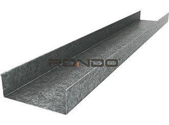 rondo 51mm x 3000mm 0.50 bmt steel track