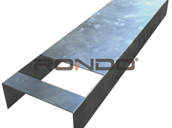 rondo 76mm x 3600mm nogging track 450mm centre