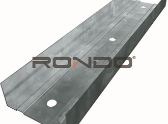 rondo 76mm x 3000mm 1.15bmt deflection head track