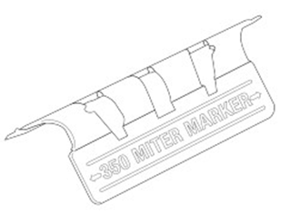 0922 trimtex 10mm mitre marker