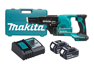 makita dfr450rfex autofeed screwdriver 18v kit